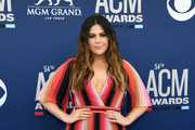 Hillary Scott of Lady Antebellum attends the 54th Academy Of Country Music Awards at MGM Grand Hotel & Casino on April 07, 2019 in Las Vegas, Nevada.