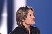 Keith Urban accepts the Entertainer of the Year award onstage during the 54th Academy Of Country Music Awards at MGM Grand Garden Arena on April 07, 2019 in Las Vegas, Nevada.