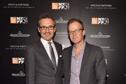 Laurent Vinay and Tom McCarthy attend the JLC Hauser Cocktails event during the 54th New York Film Festival at Hauser Patron Salon at Alice Tully Hall on October 4, 2016 in New York City.