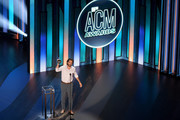 Thomas Rhett poses with the Entertainer of the Year award onstage during the 55th Academy of Country Music Awards at the Grand Ole Opry on September 16, 2020 in Nashville, Tennessee. The ACM Awards airs on September 16, 2020 with some live and some prerecorded segments.
