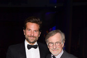 Bradley Cooper and Steven Spielberg attend the 55th Annual Cinema Audio Society Awards at InterContinental Los Angeles Downtown on February 16, 2019 in Los Angeles, California.