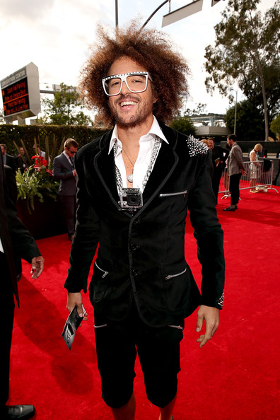 LMFAO Band member Stefan Kendal Gordy arrives at the 55th Annual GRAMMY Awards on February 10, 2013 in Los Angeles, California.
