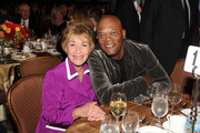 Actors Judge Judy and Samuel L. Jackson attend the 55th Annual Women's Guild Cedars-Sinai Gala  held on November 13, 2012 in Beverly Hills, California.