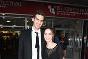 Actress Hadas Yaron and actor Ido Samuel attend the Premiere of 'Fill The Void' during the 56th BFI London Film Festival at Odeon West End on October 16, 2012 in London, England.