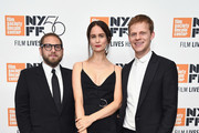 "(L-R) Director Jonah Hill, actors Alexa Demie and Lucas Hedges attend the ""Mid90s"" screening during the 56th New York Film Festival at Elinor Bunin Munroe Film Center on October 7, 2018 in New York City."