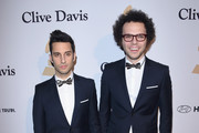 Musicians Chad Vaccarino (L) and  Ian Axel of A Great Big World attend the Pre-GRAMMY Gala and Salute To Industry Icons honoring Martin Bandier at The Beverly Hilton Hotel on February 7, 2015 in Beverly Hills, California.