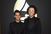 (L-R) Recording Artists Chad Vaccarino and Ian Axel of A Great Big World attend The 57th Annual GRAMMY Awards at the STAPLES Center on February 8, 2015 in Los Angeles, California.