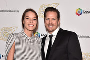 Liz Godwin and Jason Lewis attend the 57th Annual ICG Publicists Awards at The Beverly Hilton Hotel on February 07, 2020 in Beverly Hills, California.