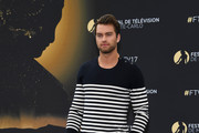 Pierson Fode from 'The bold and the beautiful'  attends a photocall during the 57th Monte Carlo TV Festival : Day 3 on June 18, 2017 in Monte-Carlo, Monaco.