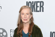 """Frances Conoroy attends the 57th New York Film Festival """"Joker"""" Arrivals at Alice Tully Hall, Lincoln Center on October 02, 2019 in New York City."""