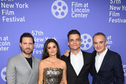 "Edgar Ramirez, Penelope Cruz, Wagner Moura and Oliverier Assayas attends the 57th New York Film Festival ""Wasp Network"" arrivals at Alice Tully Hall, Lincoln Center on October 05, 2019 in New York City."