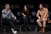 "Writer/director Olivier Assayas, Penelope Cruz and Edgar Ramirez attend the 57th New York Film Festival - ""Wasp Network"" Press Conference at Walter Reade Theater on October 04, 2019 in New York City."