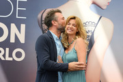 """Alexandre Brasseur and Ingrid Chauvin from the serie """"Demain Nous Appartient"""" attend a photocall during the 58th Monte Carlo TV Festival on June 16, 2018 in Monte-Carlo, Monaco."""