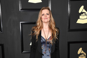 Singer Tierney Sutton attends The 59th GRAMMY Awards at STAPLES Center on February 12, 2017 in Los Angeles, California.