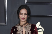 Musician Anoushka Shankar attends The 59th GRAMMY Awards at STAPLES Center on February 12, 2017 in Los Angeles, California.