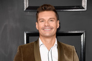 Tv/Radio personality Ryan Seacrest attends The 59th GRAMMY Awards at STAPLES Center on February 12, 2017 in Los Angeles, California.