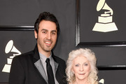Musicians Ari Hest (L) and Judy Collins attend The 59th GRAMMY Awards at STAPLES Center on February 12, 2017 in Los Angeles, California.