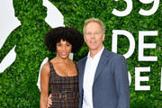 """(L-R) Kelly McCreary and Greg Germann from the TV series """"Grey's Anatomy"""" attend the 59th Monte Carlo TV Festival : Day Three on June 16, 2019 in Monte-Carlo, Monaco."""