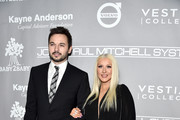 Matthew Rutler (L) and recording artist Christina Aguilera attend the 5th Annual Baby2Baby Gala at 3LABS on November 12, 2016 in Culver City, California.