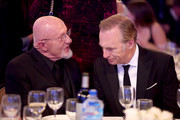 Actors Jonathan Banks (L) and Bob Odenkirk attend the 5th Annual Critics' Choice Television Awards at The Beverly Hilton Hotel on May 31, 2015 in Beverly Hills, California.