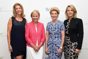 (L-R) Ami Kaplan, Tina Brown, Emily Rafferty and Deborah Norville attend the 5th Annual Elly Awards hosted by the Women's Forum of New York honoring Tina Brown & Emily Rafferty at The Plaza Hotel - 5th Avenue on June 22, 2015 in New York City.