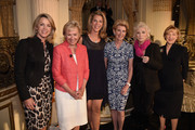 (L-R) Deborah Norville, Tina Brown, Ami Kaplan, Emily Rafferty, Judy Collins and Linda Willett attend the 5th Annual Elly Awards hosted by the Women's Forum of New York honoring Tina Brown & Emily Rafferty at The Plaza Hotel - 5th Avenue on June 22, 2015 in New York City.