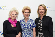 (L-R) Judy Collins, Emily Rafferty and Deborah Norville attend the 5th Annual Elly Awards hosted by the Women's Forum of New York honoring Tina Brown & Emily Rafferty at The Plaza Hotel - 5th Avenue on June 22, 2015 in New York City.