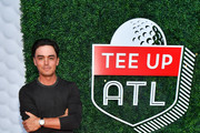Rickie Fowler attends 5th Annual Tee Up ATL Party at College Football Hall of Fame on August 19, 2019 in Atlanta, Georgia.
