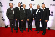 (L-R) Darrell Friedman, 2018 Entertainment Law Initiative Service award recipient Michael Reinert, President and CEO, Recording Academy, Board Chair, GRAMMY Museum® Neil Portnow,  New York Attorney General Eric Schneiderman, President's Merit Award Winner Allen Grubman, and Chair, National Board of Trustees, Recording Academy John Poppo attend The Recording Academy™'s 20th annual Entertainment Law Initiative® Event & Scholarship Presentation on January 26, 2018 at New World Stages at Worldwide Plaza in New York City. For more information, visit www.grammy.com/entertainment-law-initiative.