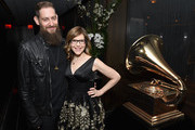 Roey Hershkovitz and musician Lisa Loeb attend the Producers and Engineers Wing 11th Annual GRAMMY Week Event Honoring Swizz Beatz And Alicia Keys at The Rainbow Room on January 25, 2018 in New York City.