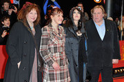 (L-R) Actress Yolande Moreau, actress Miss Ming, actress Isabelle Adjani and  actor Gerard Depardieu attend the 'Mammuth' Premiere during day nine of the 60th Berlin International Film Festival at the Berlinale Palast on February 19, 2010 in Berlin, Germany.