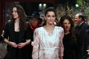 (L-R) Actresses Rebecca Hall, Amanda Peet and director Nicole Holofcener attend the 'Please Give' Premiere during day six of the 60th Berlin International Film Festival at the Berlinale Palast on February 16, 2010 in Berlin, Germany.