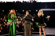 (L-R) Yolanda Adams, Fantasia, and Andra Day perform onstage during the 61st Annual GRAMMY Awards at Staples Center on February 10, 2019 in Los Angeles, California.