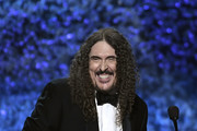'Weird Al' Yankovic accepts Best Boxed or Special Limited Edition Package at the premiere ceremony during the 61st annual GRAMMY Awards at Staples Center on February 10, 2019 in Los Angeles, California.