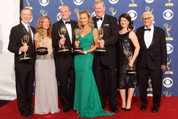 Lucy Barzun Donnelly 61st Annual Primetime Emmy Awards - Press Room