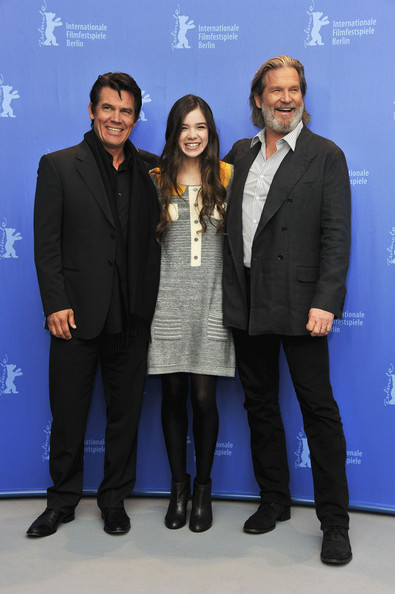 (L-R) Actors Josh Brolin, Hailee Steinfeld and Jeff Bridges attend the 'True Grit' Photocall during the opening day of the 61st Berlin International Film Festival at the Grand Hyatt on February 10, 2011 in Berlin, Germany.