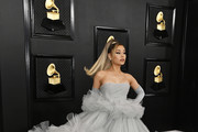 Ariana Grande attends the 62nd Annual GRAMMY Awards at STAPLES Center on January 26, 2020 in Los Angeles, California.