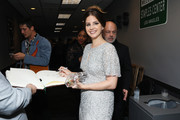 Lana Del Rey is seen at the GRAMMY Charities Signings during the 62nd Annual GRAMMY Awards at STAPLES Center on January 26, 2020 in Los Angeles, California.