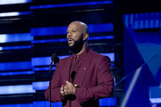 Common speaks onstage during the 62nd Annual GRAMMY Awards at Staples Center on January 26, 2020 in Los Angeles, California.