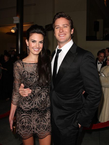 Actor Armie Hammer (R) and actress Elizabeth Chambers arrive at the 63rd Annual Directors Guild Of America Awards held at the Grand Ballroom at Hollywood & Highland on January 29, 2011 in Hollywood, California.