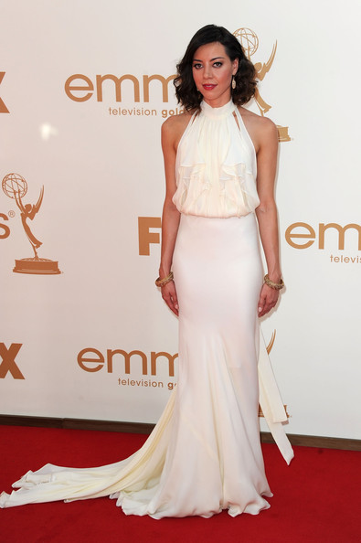 Actress Aubrey Plaza arrives at the 63rd Annual Primetime Emmy Awards held at Nokia Theatre L.A. LIVE on September 18, 2011 in Los Angeles, California.