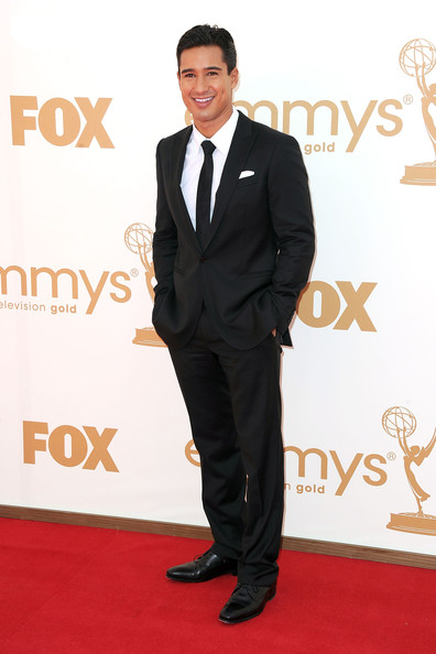 TV personality Mario Lopez arrives at the 63rd Annual Primetime Emmy Awards held at Nokia Theatre L.A. LIVE on September 18, 2011 in Los Angeles, California.
