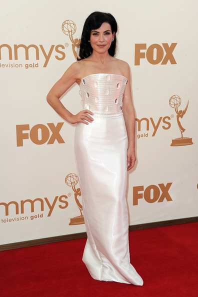 Actress Julianna Margulies arrives at the 63rd Annual Primetime Emmy Awards held at Nokia Theatre L.A. LIVE on September 18, 2011 in Los Angeles, California.