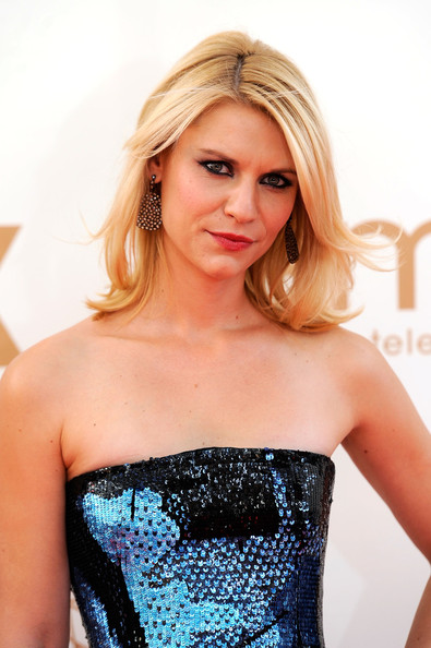 Actress Claire Danes arrives at the 63rd Annual Primetime Emmy Awards held at Nokia Theatre L.A. LIVE on September 18, 2011 in Los Angeles, California.