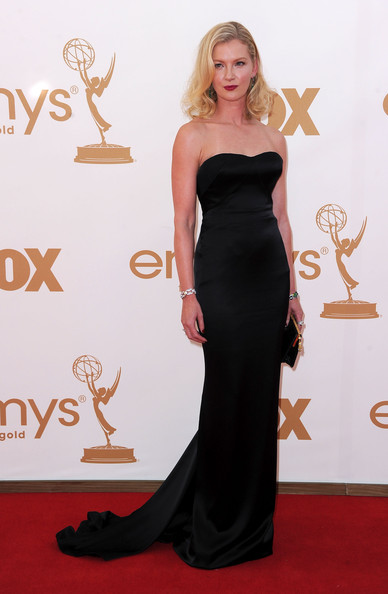 Actress Gretchen Mol arrives at the 63rd Annual Primetime Emmy Awards held at Nokia Theatre L.A. LIVE on September 18, 2011 in Los Angeles, California.