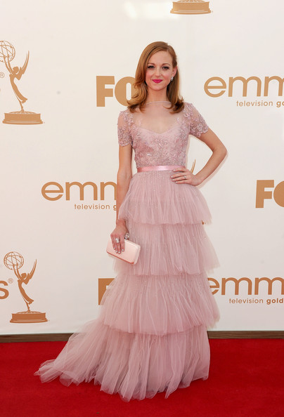 Actress Jayma Mays arrives at the 63rd Annual Primetime Emmy Awards held at Nokia Theatre L.A. LIVE on September 18, 2011 in Los Angeles, California.