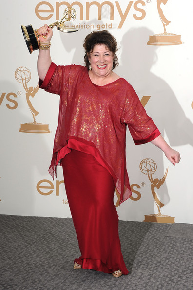 Actress Margo Martindale of 'Justified' poses in the press room after winning outstanding supporting actress in a drama series 2011 during the 63rd Annual Primetime Emmy Awards held at Nokia Theatre L.A. LIVE on September 18, 2011 in Los Angeles, California.