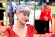 TV personality Kelly Osbourne arrives at the 65th Annual Primetime Emmy Awards held at Nokia Theatre L.A. Live on September 22, 2013 in Los Angeles, California.