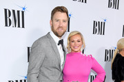 Cassie McConnell and recording artist Charles Kelley attend the BMI Country Awards 2018 at BMI Nashville on November 13, 2018 in Nashville, Tennessee.
