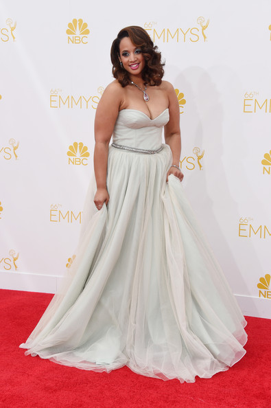Actress Dascha Polanco attends the 66th Annual Primetime Emmy Awards held at Nokia Theatre L.A. Live on August 25, 2014 in Los Angeles, California.